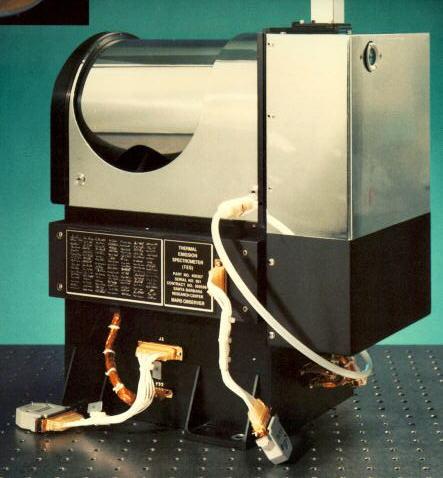 A termálemissziós spektrométer